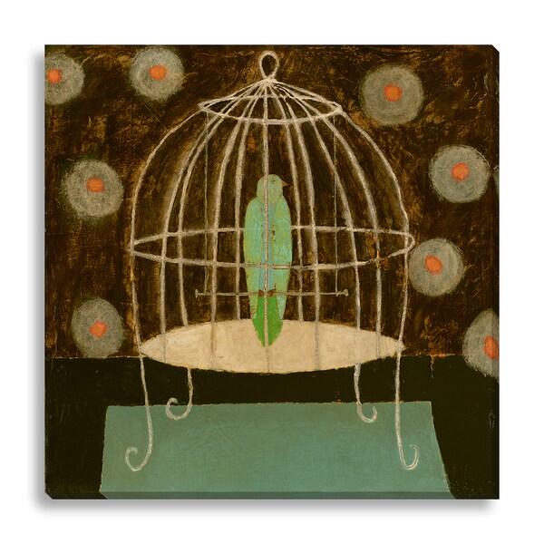 Leslie Barron 'Birdcage' Oversized Canvas Gallery Wrap