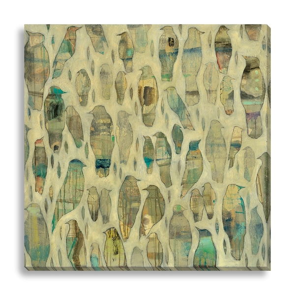 Leslie Barron 'Cage Carriers' Oversized Canvas Gallery Wrap