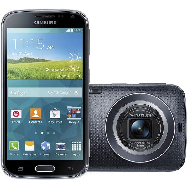 Samsung Galaxy K Zoom SM-C115 8GB Smartphone (Unlocked, Charcoal Black)