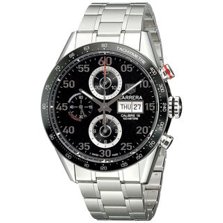 Tag Heuer Men's CV2A10.BA0796 'Carrera' Automatic Chronograph Stainless Steel Watch