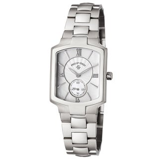 Philip Stein Women's 21-CMOP-SS3 'Signature' Mother of Pearl Dial Stainless Steel Swiss Quartz Watch