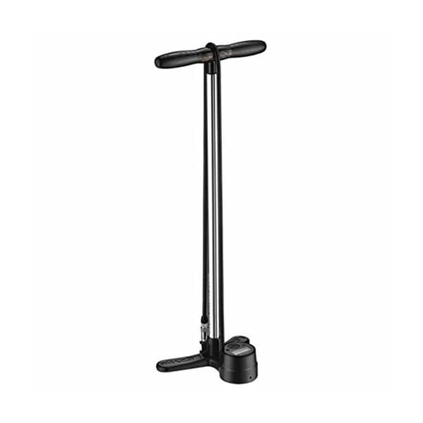 Lezyne Shock Digital Drive Floor Pump Silver, One Size