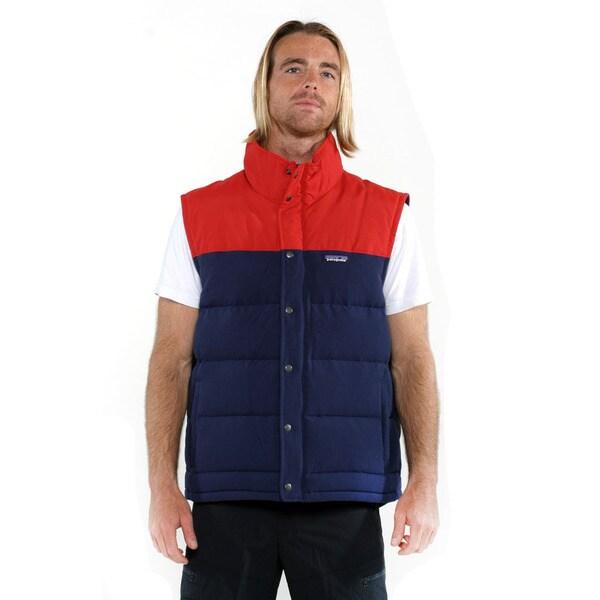 Patagonia Men's Classic Navy Bivy Down Vest