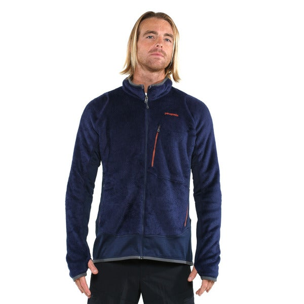 Patagonia Men's Classic Navy R2 Fleece Jacket