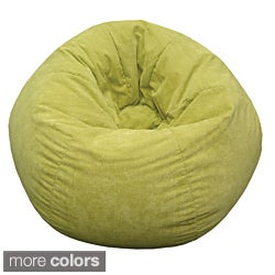 Gold Medal Medium Sueded Corduroy Teen Bean Bag