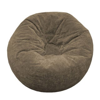 Gold Medal Jumbo Sueded Corduroy Bean Bag