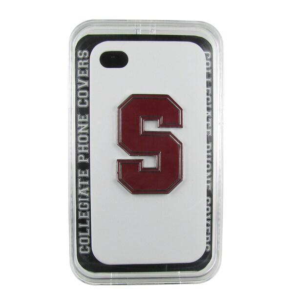 Stanford Enamel S White iPhone 4/ 4S Case