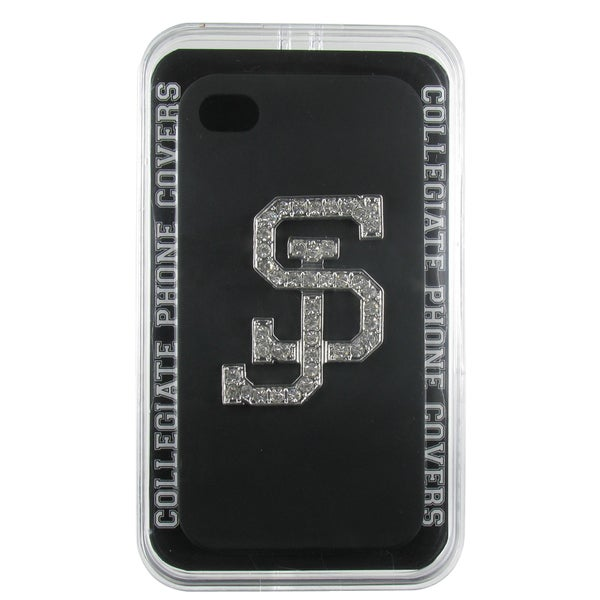 San Jose State Crystal SJ Black iPhone 4/ 4S Case