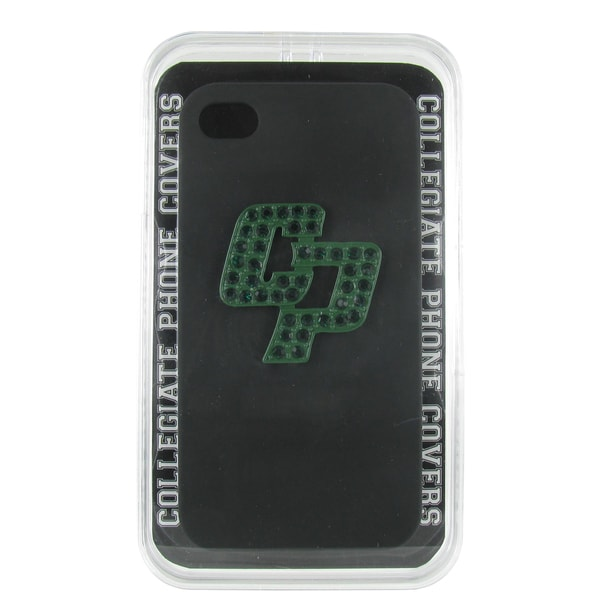 Cal Poly San Luis Obispo Crystal CP Black iPhone 4/ 4S case