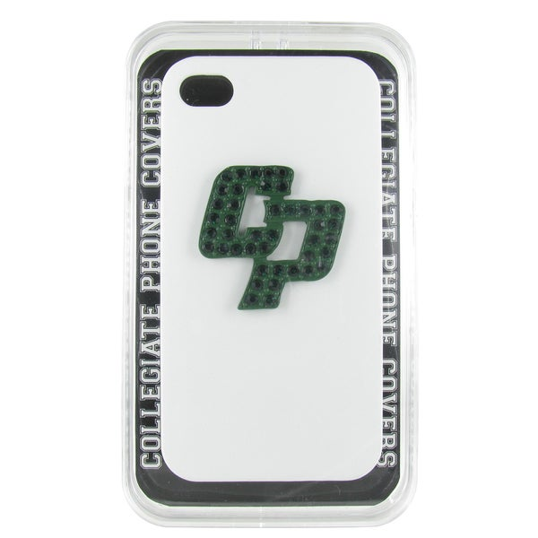 Cal Poly San Luis Obispo Crystal CP White iPhone 4/ 4S case