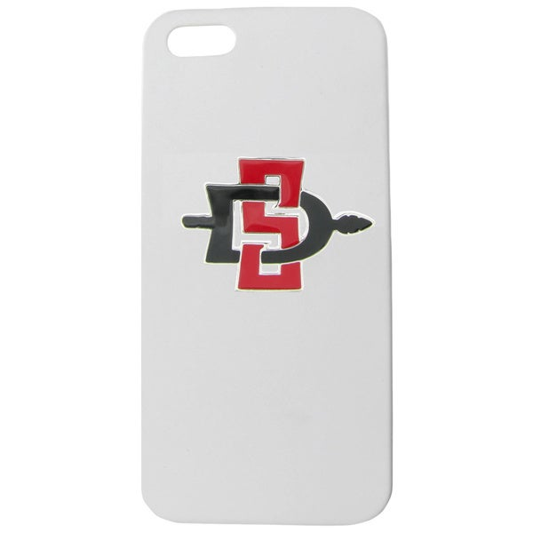San Diego State Enamel SD White iPhone 5/ 5S case