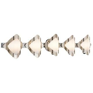Kichler Lighting Contemporary 5-light Chrome Bath/ Vanity Light