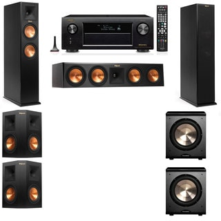 Klipsch RP-250F Tower Speakers-PL-200-5.2-Denon AVR-X4100W