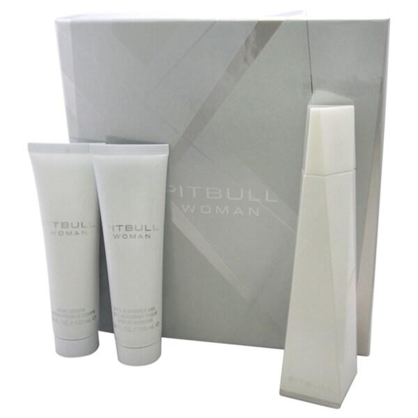 Pitbull by Pitbull Women's 3-piece Gift Set