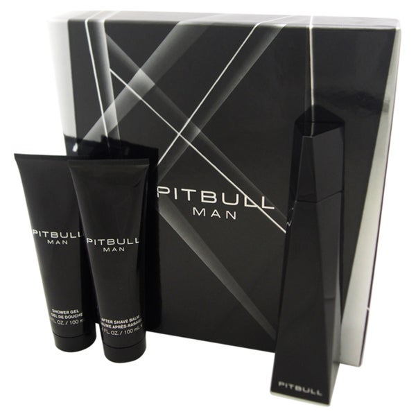 Pitbull Men's 3-piece Gift Set