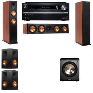 Klipsch RP-250F Tower Speakers CH-PL-200-5.1-Onkyo TX-NR838