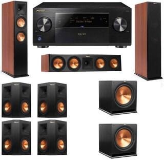 Klipsch RP-250F Tower Speakers CH-RP-440C-7.2-Pioneer Elite SC-85