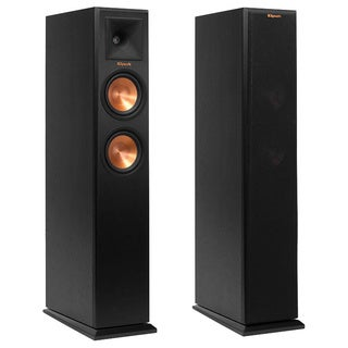 Klipsch RP-250F Tower Speakers-SDS12-7.2-Denon AVR-X4100W