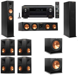 Klipsch RP-250F Tower Speakers-7.2-Denon AVR-X4100W