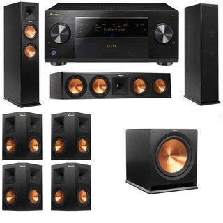 Klipsch RP-250F Tower Speakers-RP-440C-7.1-Pioneer Elite SC-85