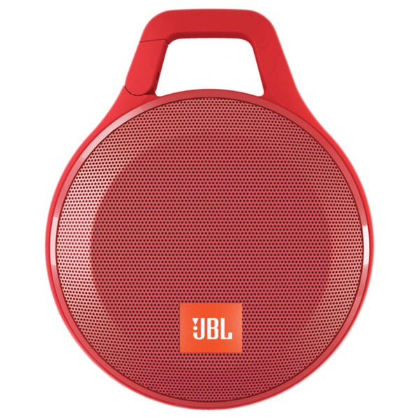JBL Clip+ Portable Bluetooth Splashproof Speaker - Red