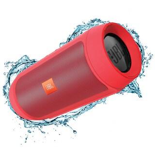 JBL Charge 2+ Portable Bluetooth Splashproof Speaker - Red