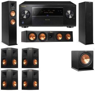 Klipsch RP-250F Tower Speakers-RP-440C-R112SW-7.1-Pioneer Elite SC-85