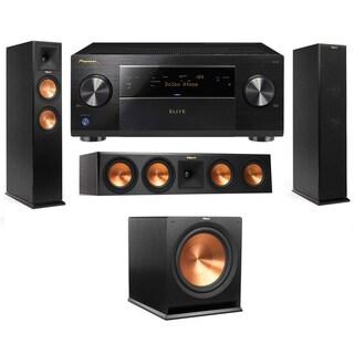 Klipsch RP-250F Tower Speakers-RP-450C-3.1-Pioneer Elite SC-85