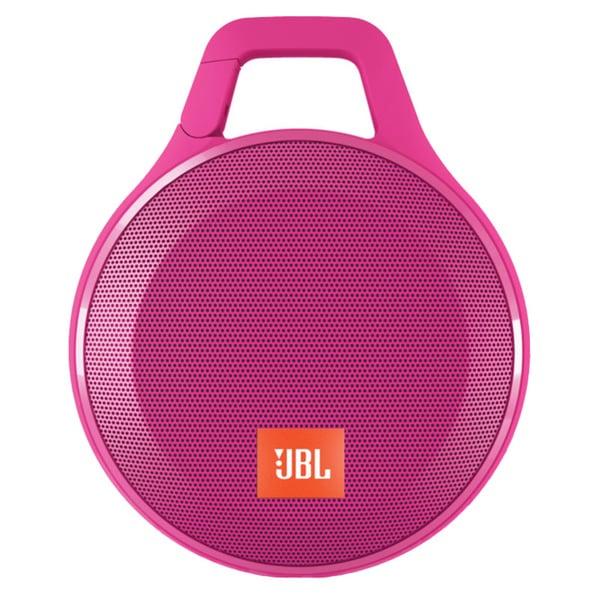 JBL Clip+ Portable Bluetooth Splashproof Speaker - Pink