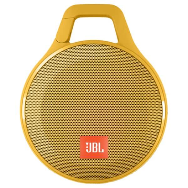 JBL Clip+ Portable Bluetooth Splashproof Speaker - Yellow