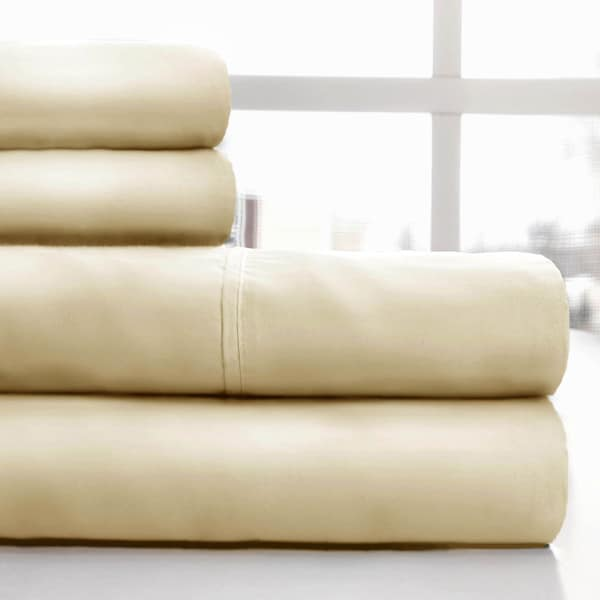 Windsor Home 600 Thread Count Cotton Sateen Sheet Set