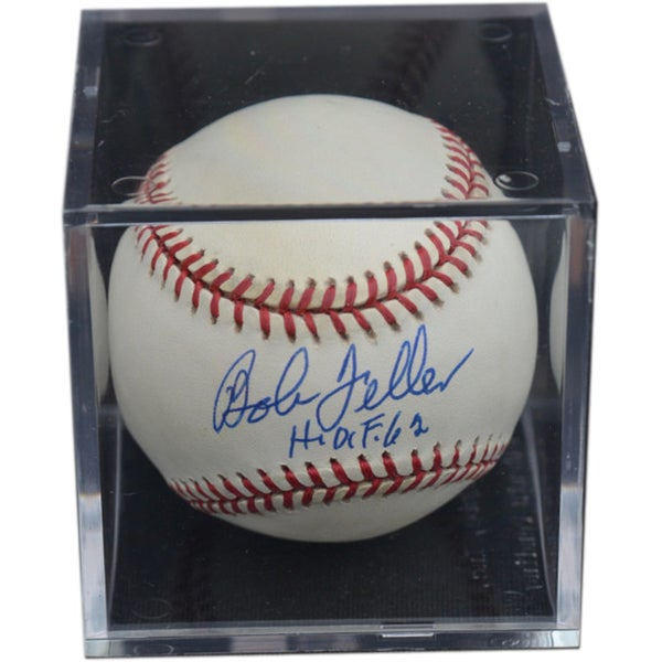SB Bob Feller Hand-signed Baseball