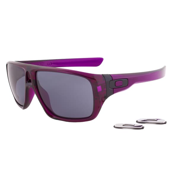Oakley Sunglasses OO 9090-12, Grape Purple Frame, Grey Lens