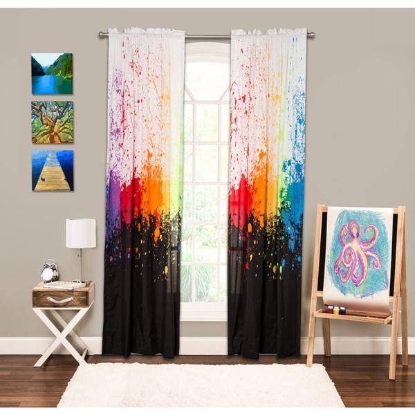 Crayola Cosmic Burst 84-inch Window Panel (As Is Item)