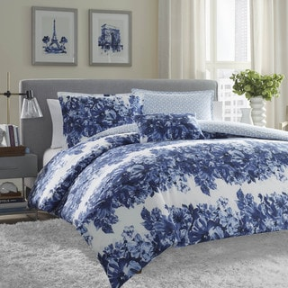 City Scene Marilyn 4-piece Comforter Set with Bonus Decorative Pillow