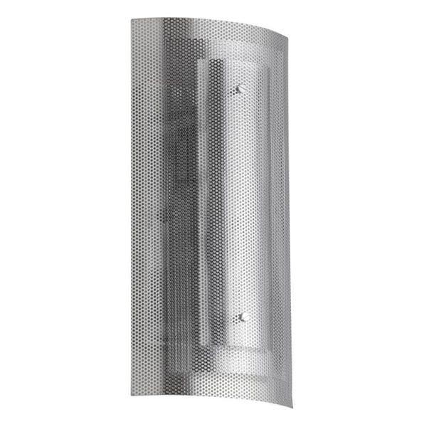 Dainolite 2-light Mesh Wall Sconce Polished Chrome Finish