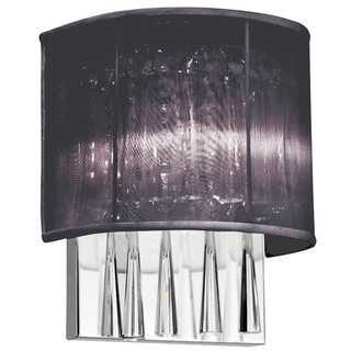 Gemini Bronze and Khaki Fabric Shade 2-Light Wall Sconce - 14496619 - Overstock.com Shopping ...