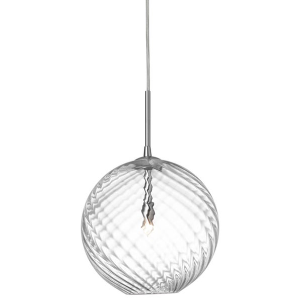 Dainolite 1-light Pendant with Clear Glass