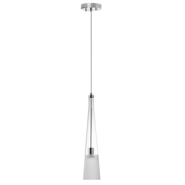 Dainolite Single Pendant Polished Chrome Finish