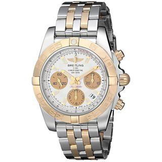 Breitling Men's CB014012-G713TT 'Chronomat' Chronograph Automatic 18kt Rose Gold Two-Tone Stainless Steel Watch