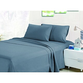 Home Fashion Designs Bellamy Collection Super Soft Double Brushed Microfiber Luxury Sheet Set in Solid Colors