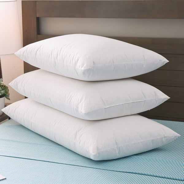 Grandeur Collection Down Blended Luxury Goose Down and Polyester Pillow