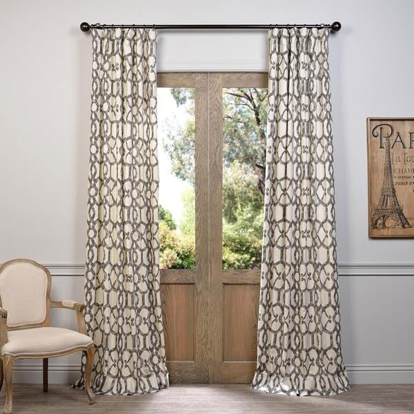 Ashford Printed Cotton Curtain
