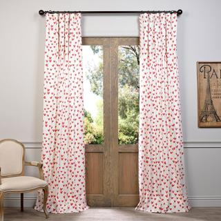 EFF Sweethearts Printed Cotton Curtain
