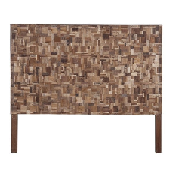 Kiowa Brown Geometric Sequoia Headboard