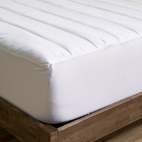 Sleep Protection MicronOne Basic Down Alternative Waterproof Mattress Pad (As Is Item)