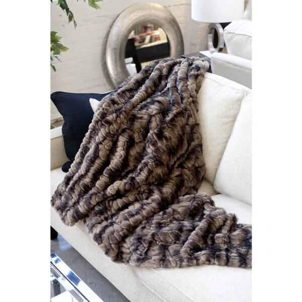 Caribou Multi Faux Fur