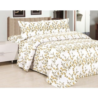 Home Fashion Designs Analisa Collection Super Soft Double Brushed Microfiber Printed Luxury Sheet Set