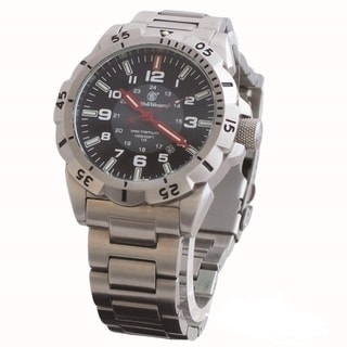 Smith and Wesson Emissary Swiss Tritium Watch Silver