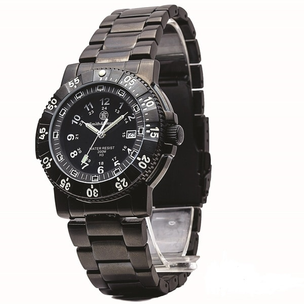 Smith and Wesson 357-Commander Tritium Watch Stainless Steel